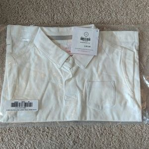 New Hanna Andersson Brushed Jersey Polo 90